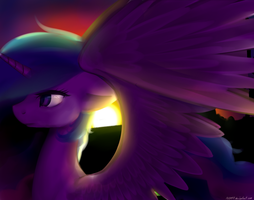 ~Disappearing sun~ by N0M1