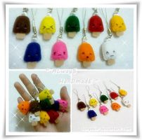 My Cute Popsicle Key Chain... by SongAhIn