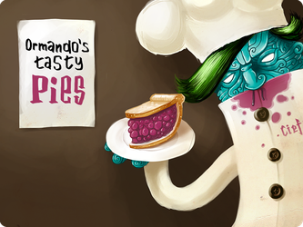 Ormando's tasty pies by jalecoultre
