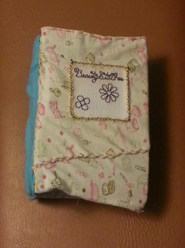 BCD: Flowers Mini Blank Book 5 by t0pd0g4evr