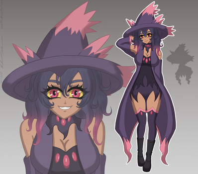 Odette the Mismagius by Sabi13