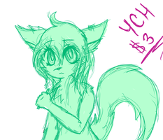 Holding Pencil YCH $3 FULL COLOR! by shotabunnyfairy