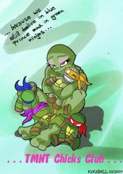 TMNT Chicks Club contest: ID by KsKaBeLL