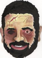 Zombie Billy Mays by rainonasunnyday