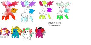 Shaymin Sky Form And Land Form Adopts (open)