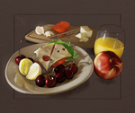 Still Life/Study of Food by donavanneil