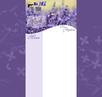 Free layout with lavender by Hrasulee
