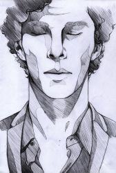 The lonely - Sherlock by Mi-caw-ber