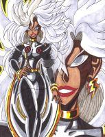 Top 13 Comic Book Women: #2 Storm by d13mon-studios