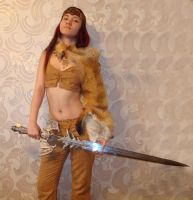 Barbarian 1 by SariennStock