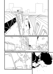 Neuronal Ghost - page 1 redraw by Van-Alencer