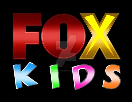 Updated FOX Kids Logo I Made. by AkiraTheFighter24
