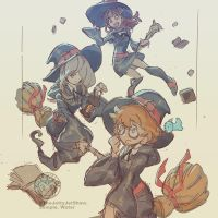 Little Witch Academia by THEJETTYJETSHOW