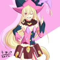 Tales of Berseria - Countdown - Magilou by Nera-loka14