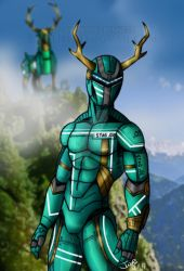 Bio Stag Ranger by blueliberty