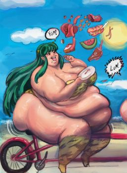 Do Stuff Me Now Lum Commission by TheAmericanDream