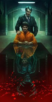 Hannibal NBC - prison by Eneada