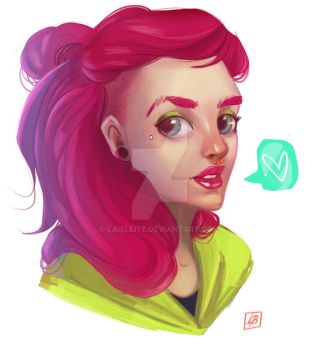 Portrait by LaisLeite
