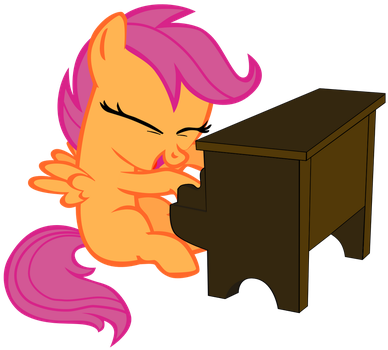 My second vector of Scootaloo. by Flutterflyraptor
