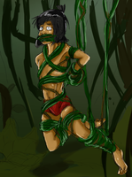 Mowgli and The Vines [Commission] by boundaru