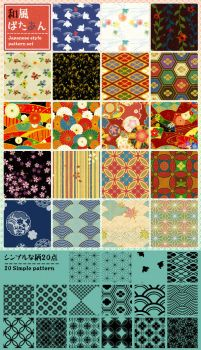 Japanese style pattern by gimei