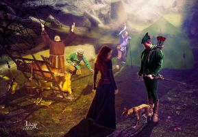 In the Robin Hood camp by Julianez