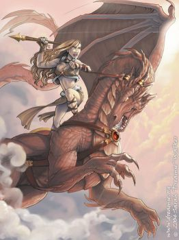 Dragon Rider by dreamie