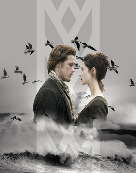 Outlander: claire and jamie by logenw