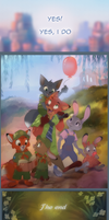 Nick and Judy: Road to Happiness - Page 14  End by littlepolka