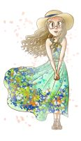 Summer Dress by lillilotus