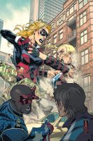 Young Avengers 5 by JohnRauch