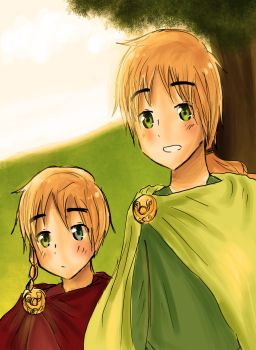 Hetalia - Here comes the sun by sigalawin
