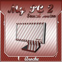 Stripes 'My PC 2' by aroche