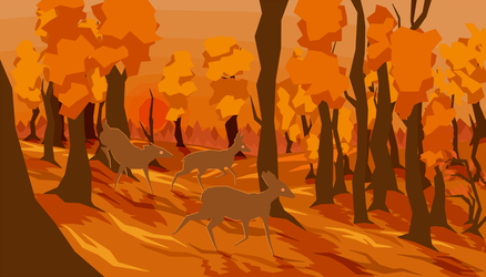 Colours of the Fall by Funoccorono