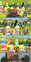 The Link Army by roaxes