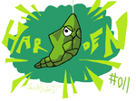 #011 Metapod by SaintsSister47