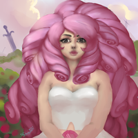 Rose Quartz by Andromyde