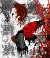 The Butterfly ::Mrs Lovett:: by inicka