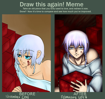 Draw this disappointment again by Animefanka