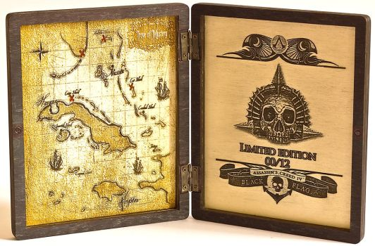 AC4 Black Flag S2 PS3 WoodBoxEditio InSide by WoodBoxEdition