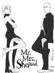 Mr and Mrs Shepard by Hezaah