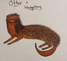 The Otterhog by TheGreenNightingale