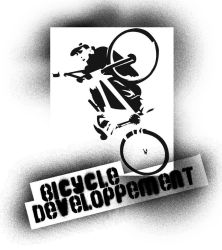bicycledeveloppement stencil by tombmx