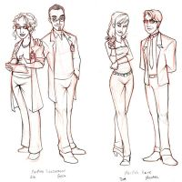 Minor Characters by y2hecate