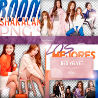 +Pack Png|Red Velvet by Pohminit