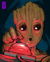 Baby Groot by thegameworld