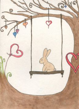 Easter Swing - inked version by Spirit-catcher