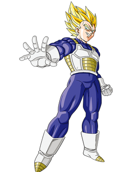 Vegeta ssj - Android Saga render 12 by maxiuchiha22