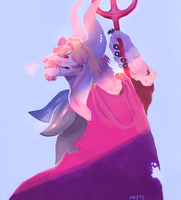 Asgore by SimplyMisty