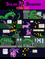 Solarshadow comic#7 Solar and Shadow's Annoyance by cretaceousisle